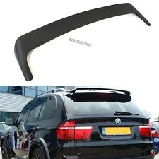 BMW E70 X5 HM Rear Boot Lid Trunk Spoiler Ducktail Wing Lip Addon Tuning Part