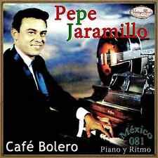 PEPE JARAMILLO Mexico Collection CD #81/100 - MEXICAN Piano Latin Ambient Bolero