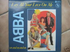 ABBA MAXI VINYL FRANCE LAY ALL YOUR LOVE ON ME