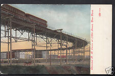 America Postcard - Elevated Rail Road Curve at 110th Street, New York  A6749