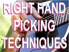 Right Hand Picking Technique DVD Lesson Strumming Video. This Is A Must Have.