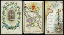 lotto santini-holy cards lot-lot images pieuses-konvolut heiligenbildichen 2532
