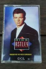 Rick Astley Whenever you need somebody cassette super rare