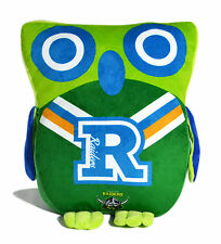 LARGE Licensed NRL Canberra Raiders OWL Cushion Pillow Teddy Girls Boys Gift