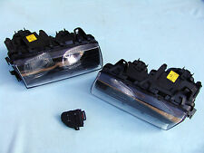 BMW E36 M3 BOSCH EURO PROJECTOR ELLIPSOID HEADLIGHTS w. NEW LENSES, ORIGINAL BMW