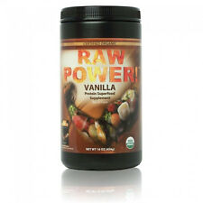 Raw Power Protein Superfood Blend Vanilla 16oz Certified Organic 100% Raw Vegan