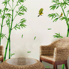 Large Bamboo Bird Tree Removable Wall stickers Decals Decor Art Mural DIY Decor