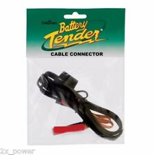 SAE Battery Tender Alligator Clips Quick Disconnect 081-0069-4 2 Pole Flat Plug