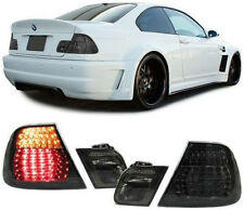 ALL SMOKED LED REAR TAIL LIGHTS FOR BMW E46 COUPE FACELIFT MODEL 04/2003-2005 t2