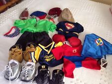 Mixed Lot of Build-A-Bear Clothes, Shoes And Accessories EUC