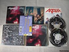 Anthrax - Sound Of White Noise JAPAN 2CD 1993 (WMC5-601) OBI + Sticker