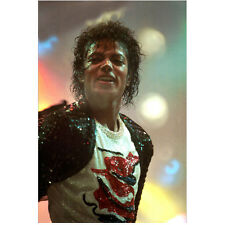 Michael Jackson King of Pop Close Up on Stage Performing 8 x 10 Inch Photo