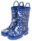 GYMBOREE FLOWER SHOWERS BLUE DAISY RAIN BOOT 9 10 11 12 13 1