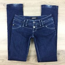 Serfontaine Womens Slim Denim Jeans Size 26 Made in USA Fit W30 L33.5 (KK7)