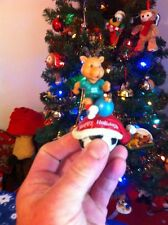 Christmas Ornament, Reindeer Playing Soccer, Happy Holidays