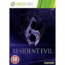 Resident Evil 6 Microsoft Xbox 360 Brand New Sealed Fast Shipping