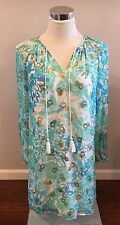 NWT Lilly Pulitzer Saria Dress Resort White In A Pinch Silk Size 4