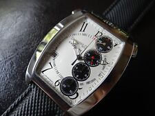Beautiful Swiss Made Eberhard Temerario 4 Chrono Automatic Men's Watch~WOW!