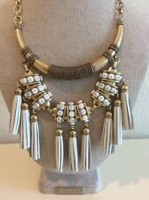 Stella And Dot Tribal Tassel Necklace