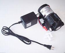 Reverse Osmosis RO 50 GPD Booster Pump + Transformer