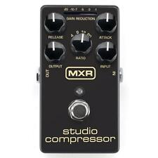 Jim Dunlop MXR Studio Compressor Comp M76 Guitar or Bass Effect Pedal Brand New!