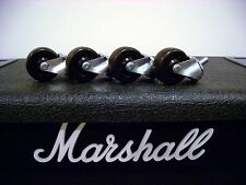 Marshall Cabinet Casters Amplifier Amp Guitar JCM JVM DSL 1936 1960 Wheels USA!!