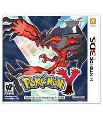 Pokemon Y (Nintendo 3DS, 2013) CASE AND INSERTS ONLY!!