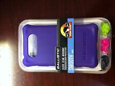 NOKIA LUMIA 820  - Ballistic smooth case with 4 sets of bumpers- purple