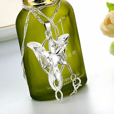 Lord of the Rings The Evenstar Pendant of Arwen Sterling Silver Necklace Noble