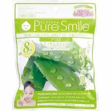 NEW Pure Smile Essence Mask 18ml × 8 sheets Aloe From Japan F/S