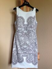 New EMILIO PUCCI  Size: 6 (44 EU) AZURRO LACE PRINT DRESS. FREE SHIPPING Платье