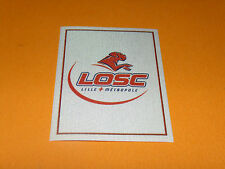 157 ECUSSON BADGE LILLE OSC LOSC DOGUES PANINI FOOT 2011 FOOTBALL 2010-2011