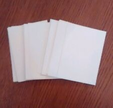 Bundle of 50 blank aceo cards. white card 2.5 x 3.5 inch