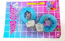Blue Furry Love Hand cuffs + SEX DICE Lovers Couple Naughty Novelty Gift Item