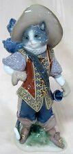 NEW LLADRO #8599 PUSS IN BOOTS BRAND NEW IN BOX DISNEY SHREK CAT LARGE SAVE$ F/S