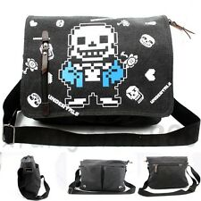 Undertale Sans Papyrus Skull Satchel Gift Messenger Shoulder Bag School Backpack