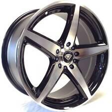 15x6.5 White Diamond WD-244 5x100/114.3 Machined Black Custom Wheels +35mm