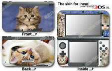 Cat Kitty Cute Pet Skin Vinyl Sticker Cover Decal #1 for NEW Nintendo 3DS XL