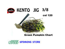 MOLIX KENTO JIG 3/8 OZ COLORE 120 GREEN PUMPKIN CHART
