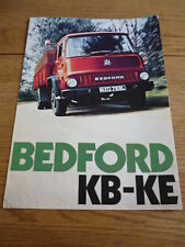 BEDFORD KB TO KF TRUCK LORRY COMMERCIAL BROCHURE 1972 73 jm