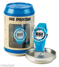 OROLOGIO ONE DIRECTION UFFICIALE 1D CLOCK WATER RESISTANT IN LATTINA S03 azzurro