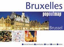 Bruxelles (mappe internazionale) (popout mappa), Bussola Mappe, 1845876393, LIBRO NUOVO