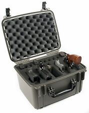 Black Seahorse SE540FP4- 1450 4 Handgun case with foam & Pelican TSA lock