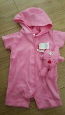 next baby girl romper suit bnwt age upto 3 months