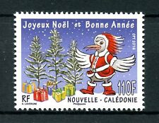 New Caledonia 2016 MNH Merry Christmas & Happy New Year 1v Set Birds Stamps