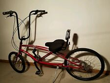 Sun Ray Sunray SX 21 Speed Easy Racer Recumbent Bike Bicycle RED