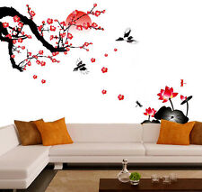 Wall Stickers Living Room Blossoms and Sunset  6900
