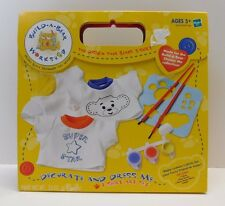 Build A Bear Workshop Decorate & Dress Me Boys T-Shirt Art Set by Hasbro