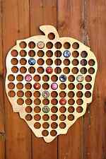 Hops Beer Cap Map 100 Bottle Cap Map Collection Gift Art