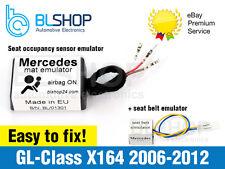 Pour Mercedes Classe GL X164 contourner occupation siège Tapis capteur airbag srs émulateur